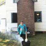 Bill Brekeen cooking pishofa